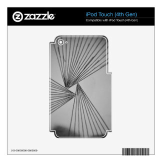 Gray Explicit Focused Love iPod Touch 4G Skin