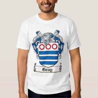 Gray Family Crest Tee Shirt