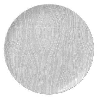 faux wood plates zazzle. Black Bedroom Furniture Sets. Home Design Ideas