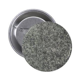 Gray felt fabric 2 inch round button