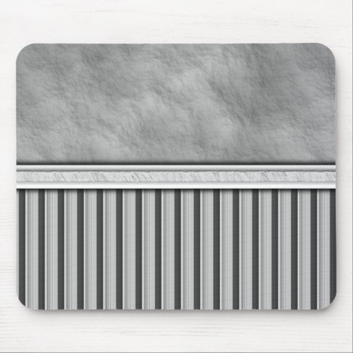 Gray Flannel Mouse Pads