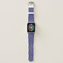 Gray Flower Ribbon by Kenneth Yoncich Apple Watch Band