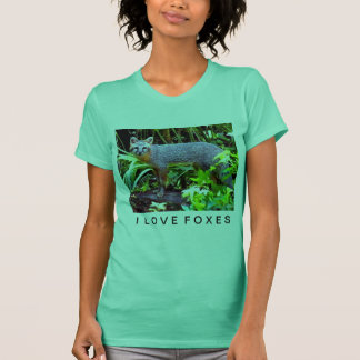 GRAY FOX ON TREE T-Shirt