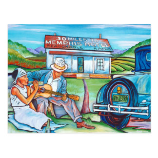 Gray Gallery: 30 Miles To Memphis Postcard