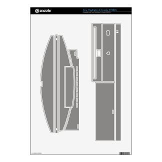 Gray Gaming Skins-Microsoft & Sony PS3 Decal
