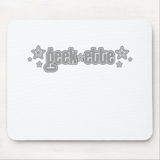 Gray Geekette Mouse Pad
