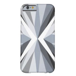 Gray Geometric Design iPhone 6/6s Case