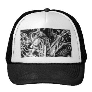 Gray girl trucker hat