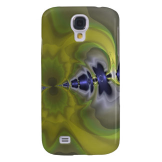 Gray Goblin in Green, Fun Spooky Imp Galaxy S4 Case