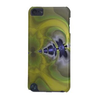 Gray Goblin in Green, Fun Spooky Imp iPod Touch 5G Cover