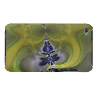 Gray Goblin in Green, Fun Spooky Imp iPod Touch Cover