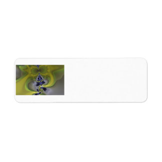 Gray Goblin in Green, Fun Spooky Imp Return Address Label