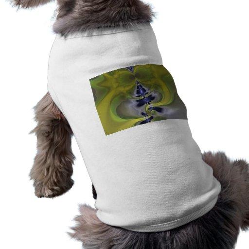 Gray Goblin in Green, Fun Spooky Imp Pet Clothes