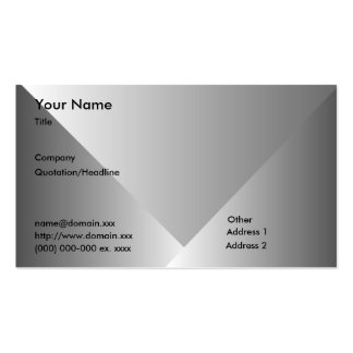 Gray Gradient-Business Double-Sided Standard Business Cards (Pack Of 100)