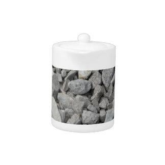 Gray Granite Pebbles Teapot