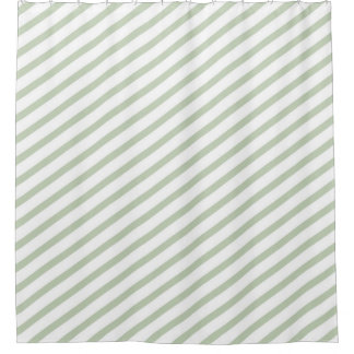 Gray And Green Shower Curtains Zazzle