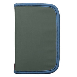 Gray Green Blue Skies Stylish Color Matched Organizers