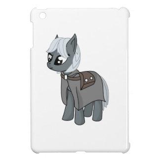 Gray/Grey Cartoon Fantasy Pony Filly Wearing Cloak Case For The iPad Mini