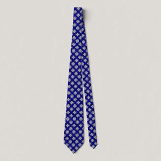 Gray / Grey Clover Ribbon Neck Tie