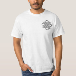 Gray / Grey Clover Ribbon T-Shirt