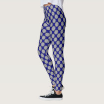 Gray / Grey Flower Ribbon by Kenneth Yoncich Leggings