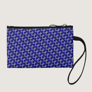 Gray / Grey Standard Ribbon Change Purse