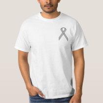 Gray / Grey Standard Ribbon T-Shirt