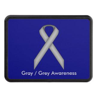 Gray / Grey Standard Ribbon Trailer Hitch Cover