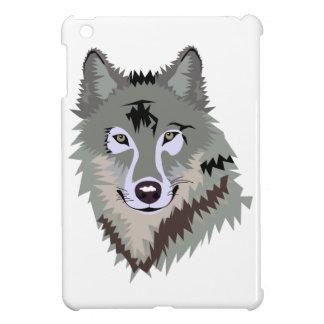 Gray/Grey Wolf iPad Mini Cover