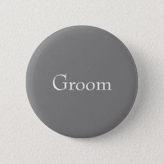 Gray Groom Button