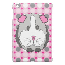 Gray Guinea Pig iPad Mini Case