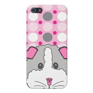 Gray Guinea Pig iPhone SE/5/5s Cover