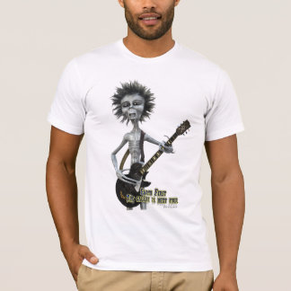 Gray Guitarist T-Shirt