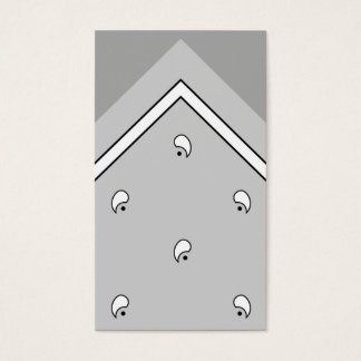 Gray Hanky Trick Card / Business Card