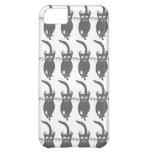 Gray Happy Cats iPhone 5C Case