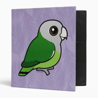 Gray-headed Lovebird 3 Ring Binder