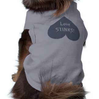 Gray Heart Anti-Valentine custompet clothing