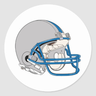 Gray Helmet Stickers