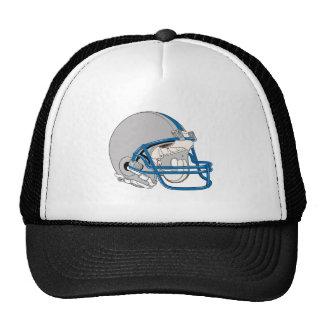 Gray Helmet Trucker Hat