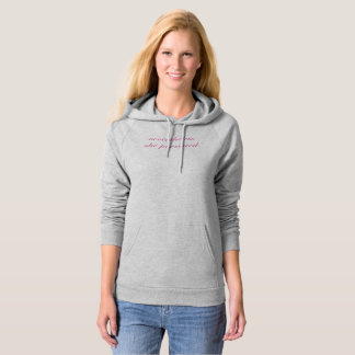 Gray Hoody Pink nevertheless she persisted