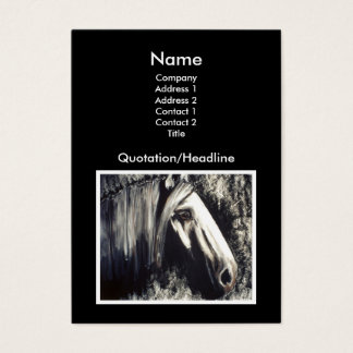 Gray Horse Business Card