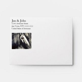 Gray Horse Envelope
