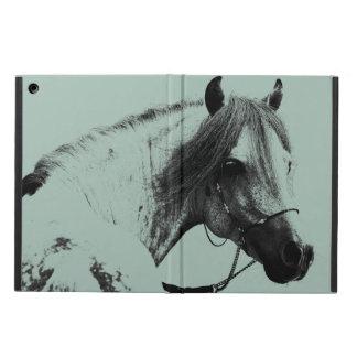 Gray Horse Head iPad Air Case