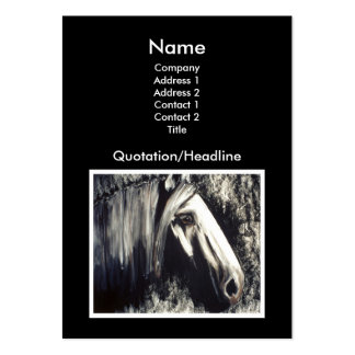 Gray Horse Large Business Card