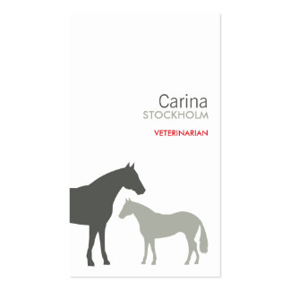 GRAY HORSES BUSINESS CARD