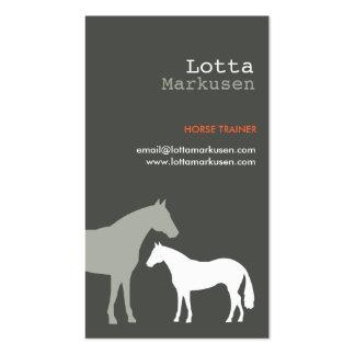 GRAY HORSES No. 3 Business Card