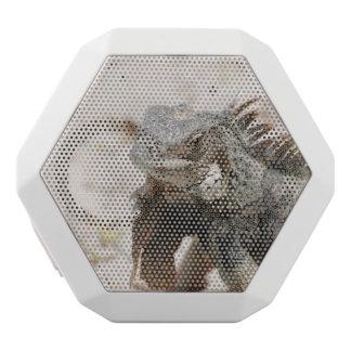 Gray Iguana White Boombot Rex Bluetooth Speaker