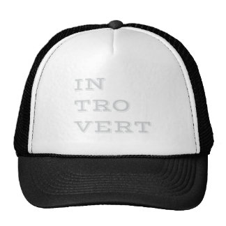 Gray Introvert Hat