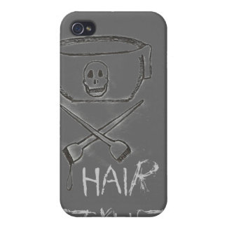Gray IPhone Case Hair Stylist