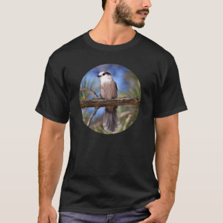 Gray Jay On A Branch T-Shirt